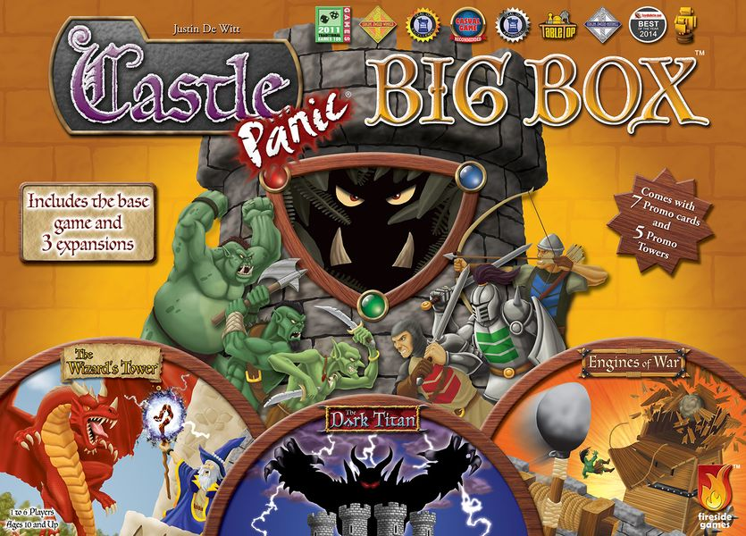 Castle Panic Big Box Board Game
