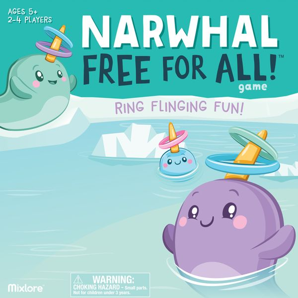 Narwhal Free for All! Board Game