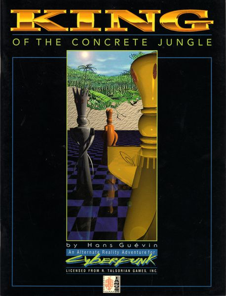 Cyberpunk 2020: King of the Concrete Jungle 106 - Used