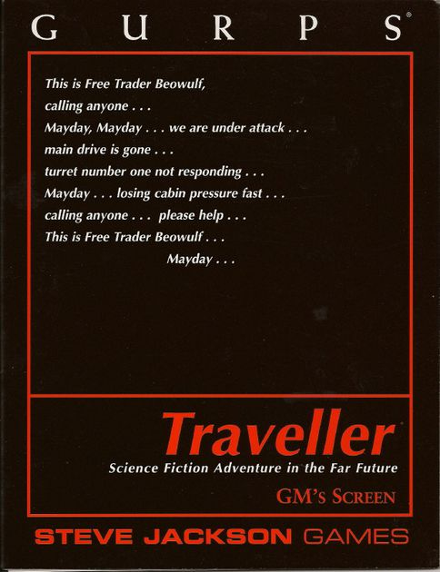 Gurps Traveller: GM Screen - Used