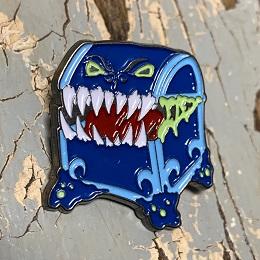 Blue Mimic Enamel Pin