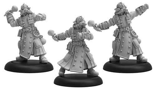 Warmachine: Crucible Guard: Combat Alchemists 37008