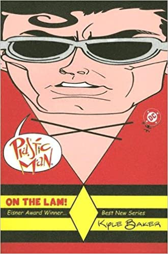 Plastic Man On the Lam TP (plastic cover) - Used