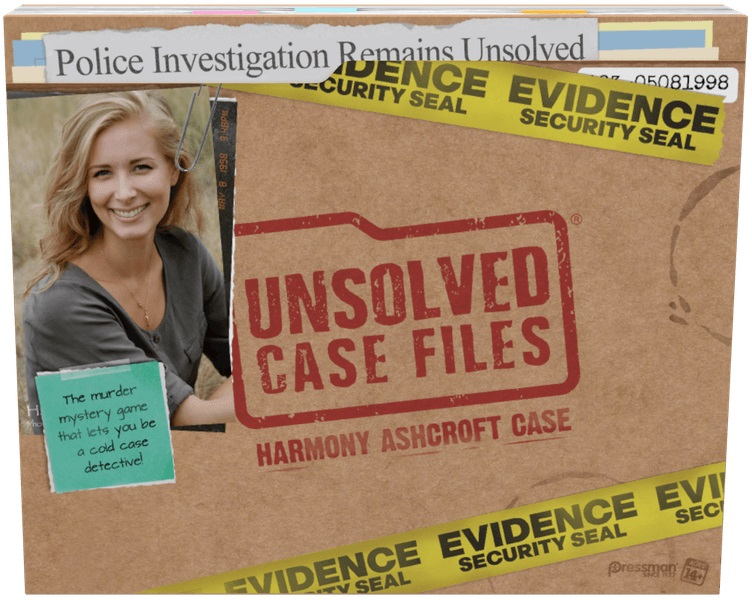 Unsolved Case Files Board Game: Harmony Ashcroft Case