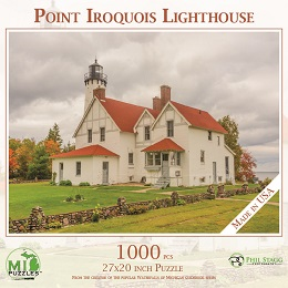 Point Iroquois Lighthouse Puzzle (1000 Pieces)