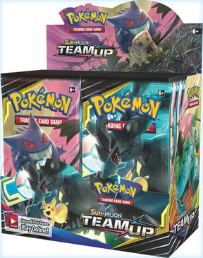 Pokemon TCG: Sun and Moon 9: Team Up Booster