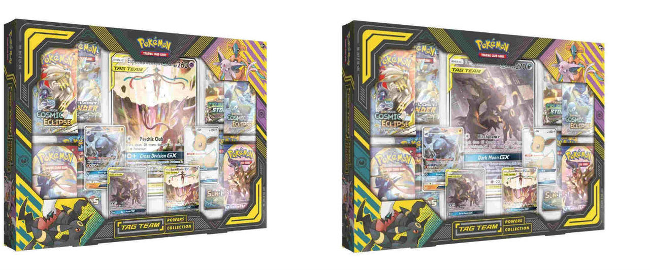 Pokemon TCG: Tag Team Powers Collection (2 Variations)