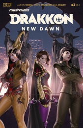 Power Rangers Drakkon: New Dawn no. 2 (2020 Series)