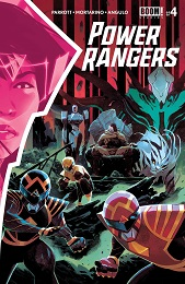 Power Rangers no. 4 (2020 Series)