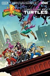 Power Rangers Teenage Mutant Ninja Turtles no. 4 (2019 Series)