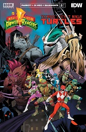 Power Rangers Teenage Mutant Ninja Turtles no. 3 (2019 Series)