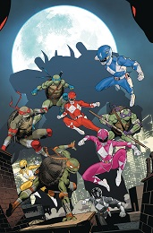 Power Rangers Teenage Mutant Ninja Turtles no. 5 (2019 Series)