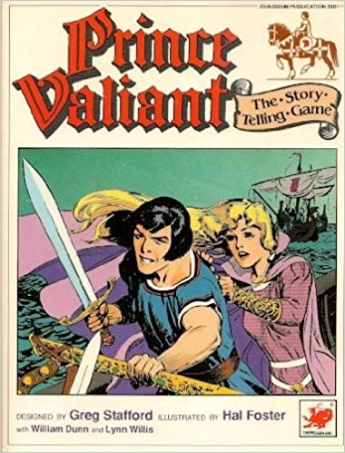 Prince Valiant The Story Telling Game - Used