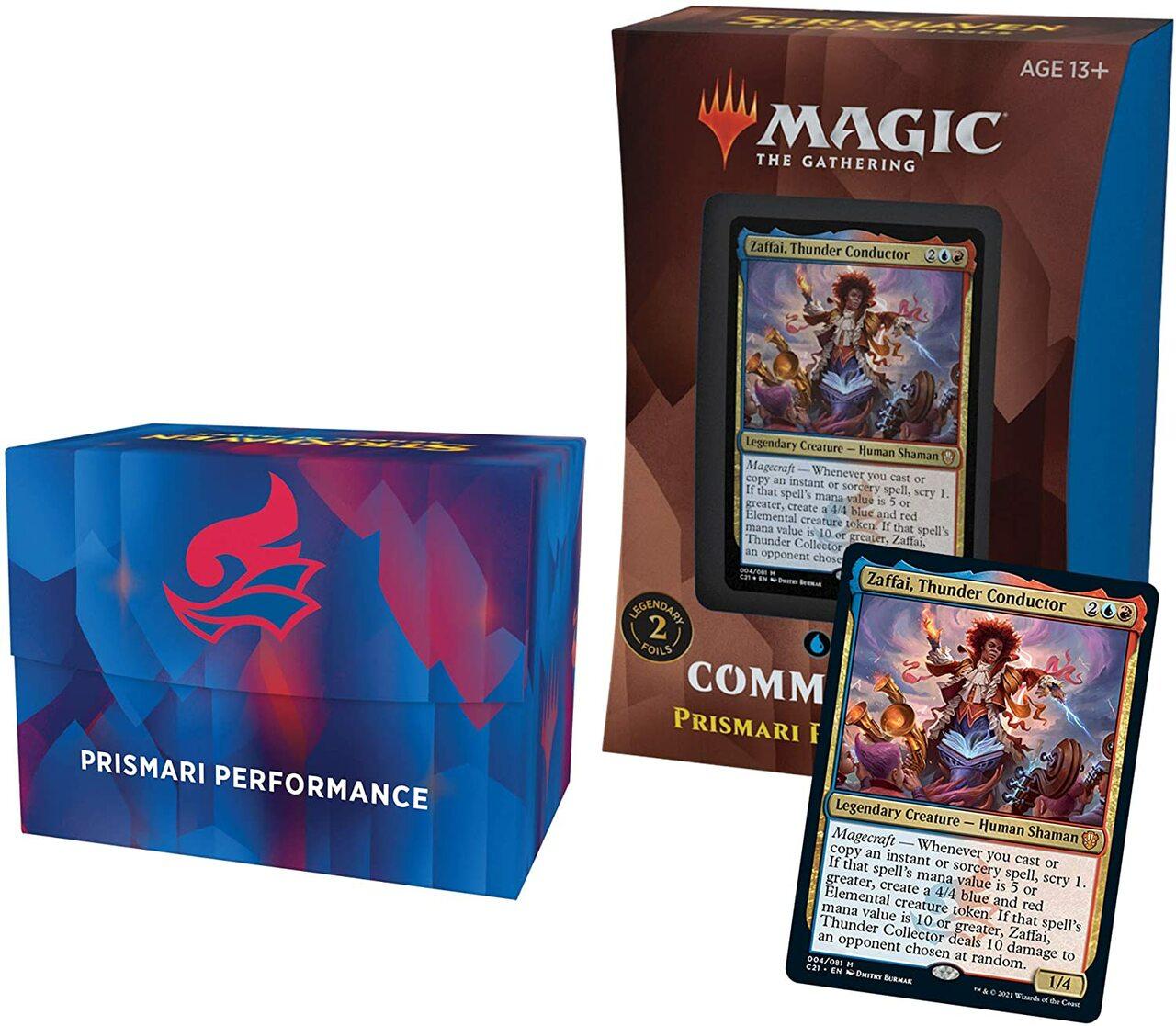 Magic the Gathering: Commander 2021: Prismari Performance