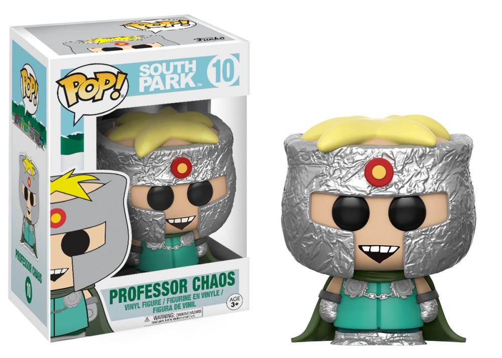 Funko POP: South Park: Professor Chaos- Used