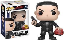 Funko POP: Marvel: Daredevil TV: Punisher with Chase
