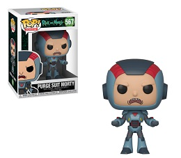 Funko POP: Animation: Rick and Morty: Purge Suit Morty