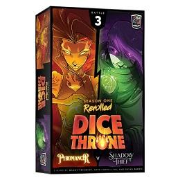 Dice Throne: Season One: Pyromancer Vs. Shadow