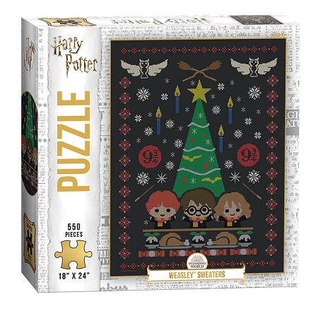 Harry Potter: Weasley Sweaters Puzzle - 550 Pieces