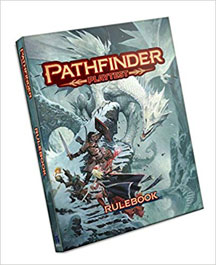 Pathfinder Role Playing: Playtest Rulebook HC - USED