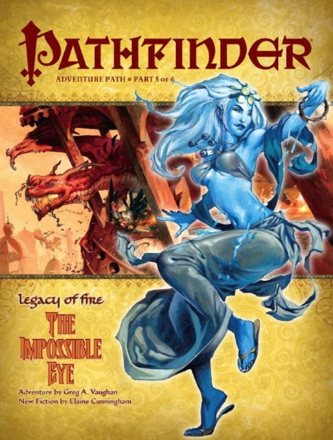 Pathfinder: Legacy of Fire: The Impossible Eye - Used