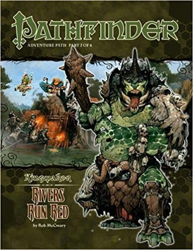 Pathfinder Role Playing Games: Kingmaker: Rivers Run Red - Used