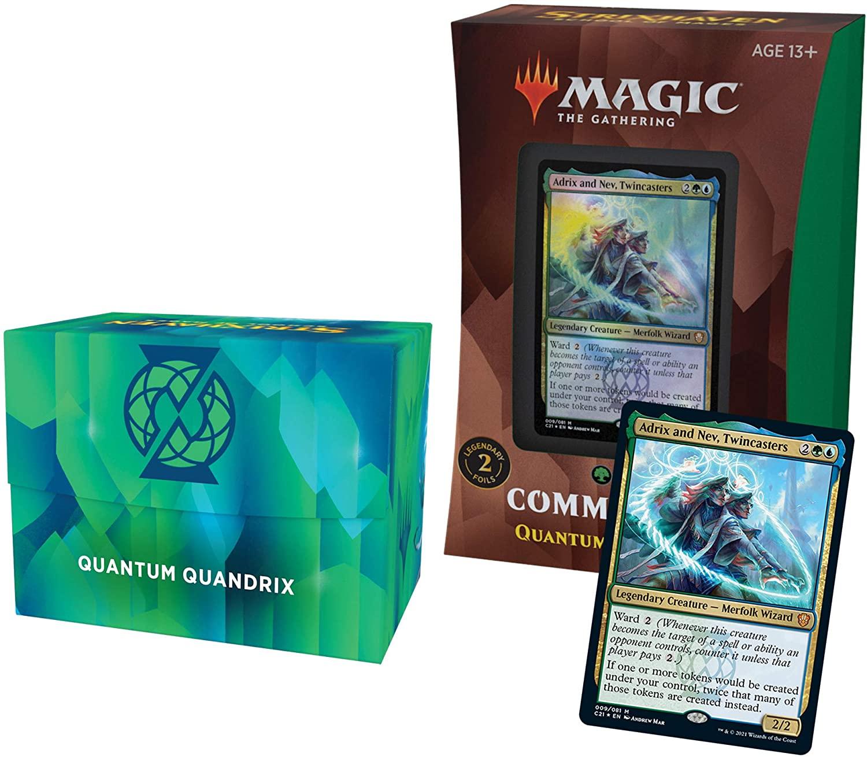 Magic the Gathering: Commander 2021: Quantum Quandrix