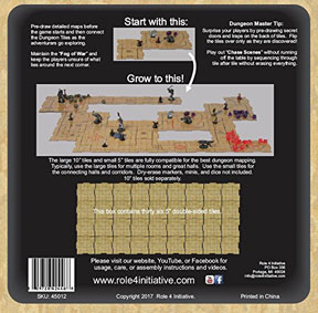 """Dungeon Tiles: Earthtone: 5"""" Square (36)"""
