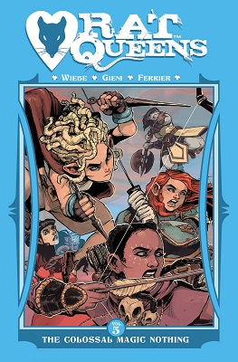 Rat Queens: Volume 5: Colossal Magic Nothing TP (MR)
