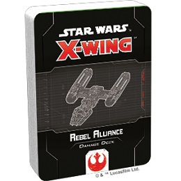 Star Wars X-Wing: 2nd Edition - Rebel Alliance Damage Deck