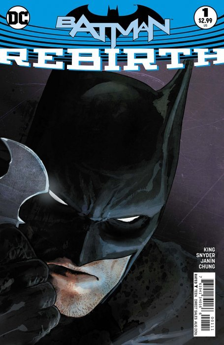 Batman Rebirth One-Shot (2016) - Used