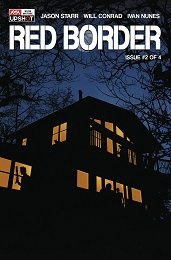 Red Border no. 2 (2020 Series) (MR)