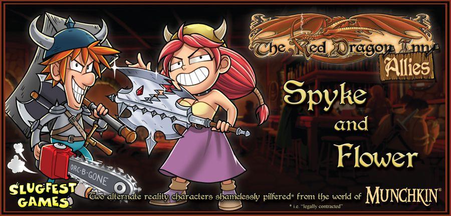 Red Dragon Inn: Allies Spyke and Flower