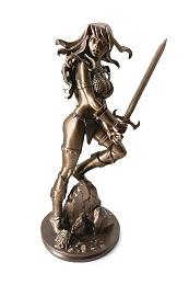 Bronze Red Sonja Statue