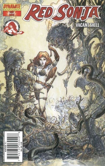 Red Sonja: Vacant Shell (2007) no. 1 One Shot (Kaluta Variant) - Used