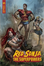 Red Sonja: The Superpowers no. 1 (2021 Series)