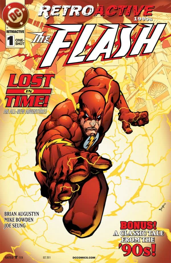 DC Retroactive The Flash The 90s (2011) One Shot - Used