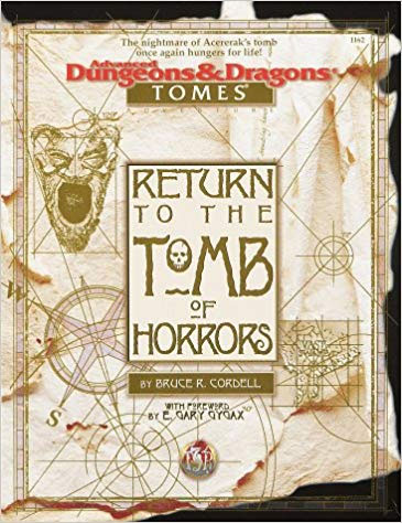 Dungeons and Dragons 2nd ed: Return to the Tomb of Horrors Box Set - Used