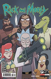 Rick and Morty no. 58 (2015 Series) (Ellerby)