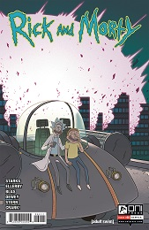Rick and Morty no. 60 (2015 Series) (Ellerby)