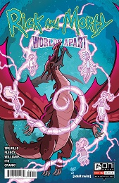 Rick and Morty: Worlds Apart no. 2 (2021 Series) (A Cover)