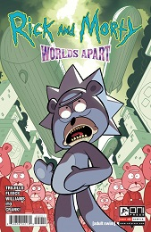 Rick and Morty: Worlds Apart no. 2 (2021 Series) (B Cover)
