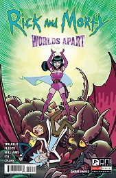 Rick and Morty: Worlds Apart no. 3 (2021 Series) (A Cover)