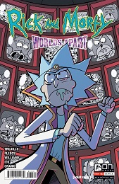 Rick and Morty: Worlds Apart no. 3 (2021 Series) (B Cover)