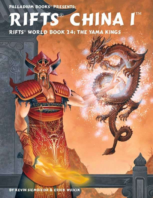 Rifts: World Book 24: Rifts China 1: The Yama Kings - Used