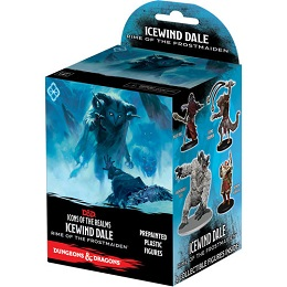 Dungeons and Dragons: Icons of the Realms: Rime of the Frostmaiden Booster Pack