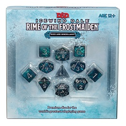 Icewind Dale Rime of the Frostmaiden: Dice and Miscellany Set