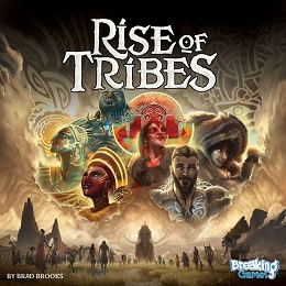 Rise of Tribes Board Game - USED - By Seller No: 5880 Adam Hill