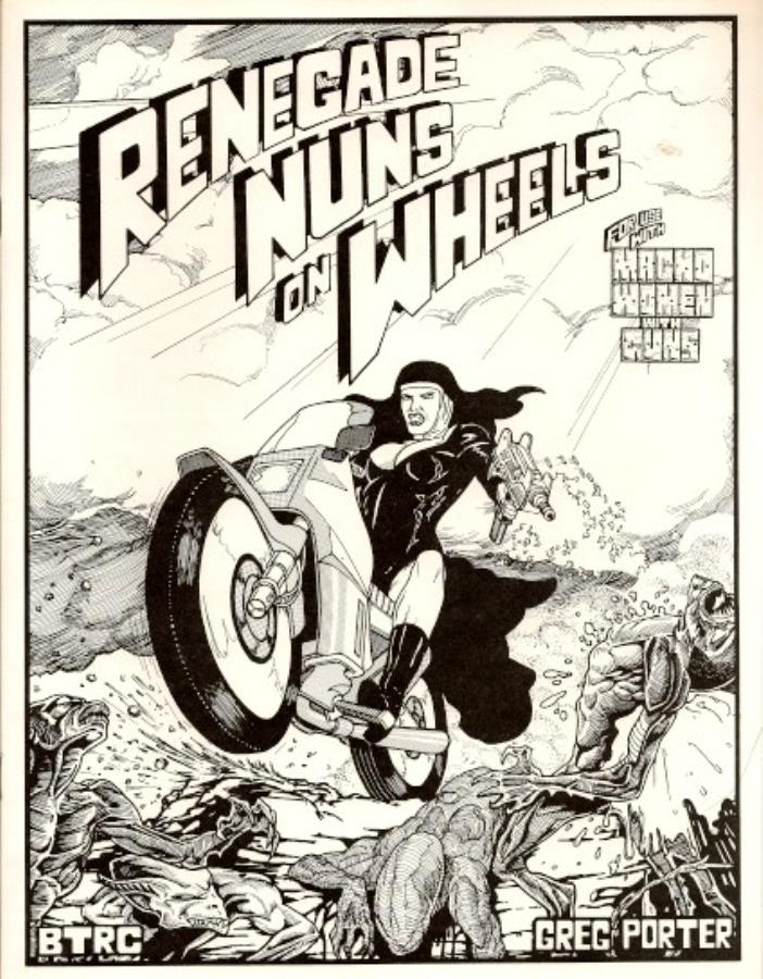 Renegade Nuns on Wheels - Used