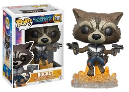 Funko POP: Guardians of the Galaxy: Rocket 201- Used